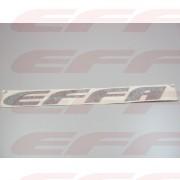 """100208 - Adesivo EFFA PRETO """"pequeno"""""""