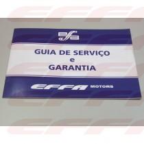 """000428 - GUIA DE SERVICO E GARANTIA """" EFFA """""""