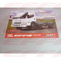 000444 - SPEC SHEET JMC - N601 (CONJ 100 FOLHAS)