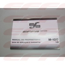 302620 - MANUAL DO PROPRIETARIO M100
